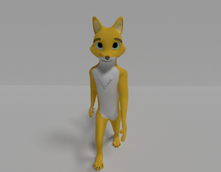 Another Lemon Render by RascalTheFox