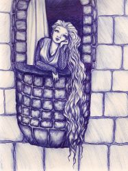 Rapunzel by Lauren-Lou