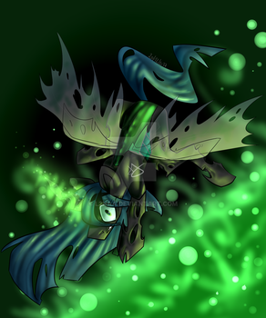 QUEEN CHRYSALIS by l2naa