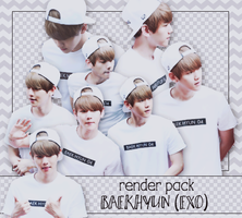PACK PNG BAEKHYUN @150711 SPAO FANSIGN by victorhwang