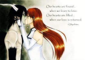 Ulquihime : This Love We Share by Ebony-of-the-Moon