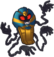 Cofagrigus by DragonHeartWolf