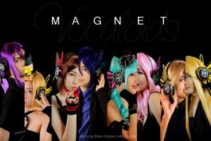 Vocaloids in MAGNET by maki-chama