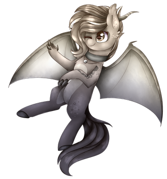 I am just a  draconequus.. [AT] by Cloud-Drawings