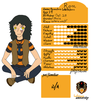 HU: Romulus Wolfsbane Ref by Creativefreak18