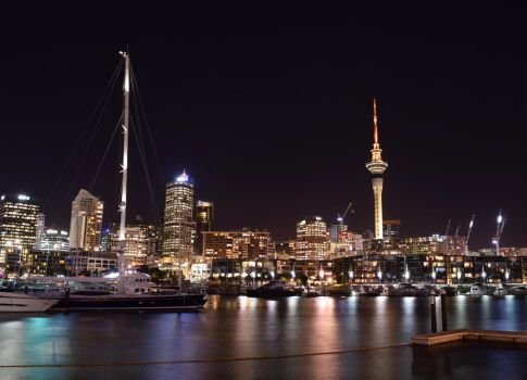 Auckland Night 2 by Renartus