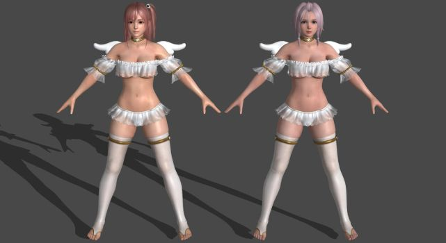 DoAX3 - Angel - Pack for XPS! by DoraiBoonzu