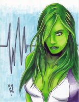 She Hulk 3 by SeanyP40