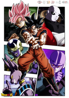 Wallpaper Dragon Ball Super Colab|FacuDibuja by FacuDibuja