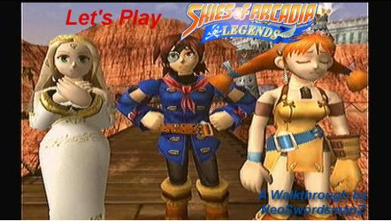 Skies of Arcadia Legends SS by NeoSwordsmanZ