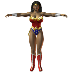 Preview: Wonder Woman by willdial