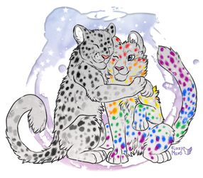 Lgbt panthers by FuzzyMaro