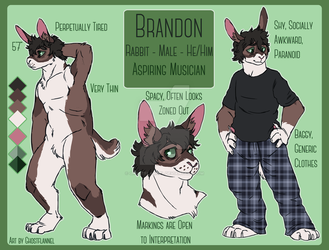 COMM - Brandon Reference by ghostflannel