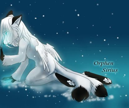orphen sirius and snow by Orphen-Sirius