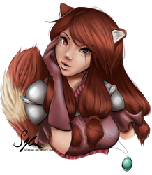 Arealle OC by sylessae