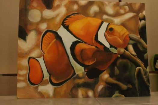 Clownfish by nekoneko1996