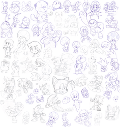 mixed doodles by Nintendrawer