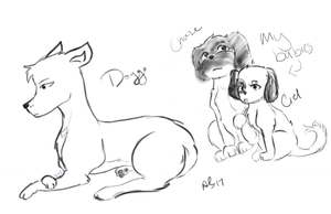Doggies by Ailizerbee08