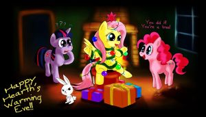 MLP FiM - Happy Hearth's Warming Eve by Fadri