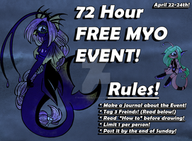 72 Hour Kiupi MYO Event (CLOSED) by KowaiSenpai