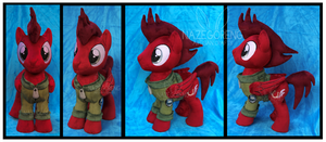 Mach Custom Plush by Nazegoreng
