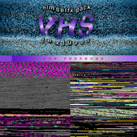 01 TEXTURES PACK: VHS by hxwlett