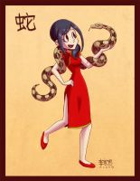Year of the Snake by taneel