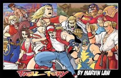 Fatal Fury print by Marvin000