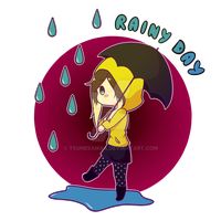 Rainy Day~ by Tsunesamaa