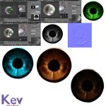 texture eyes kevstudio by evin279