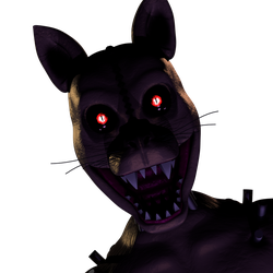 Monster Cat V2 Jumpscare thing by AndyDatRaginPurro