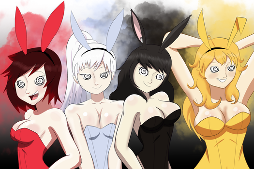 Hypno RWBY Bunnies by Syas-Nomis