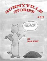 Sunnyville Stories #11 cover by maxwestart