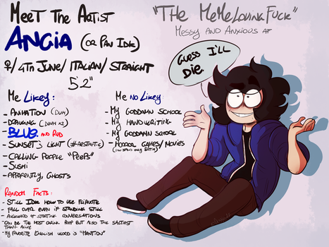 Meet the artist 2017 by Slice-of-Eyebrows