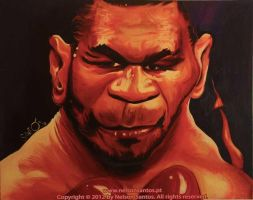 Mike Tyson by nelsonsantos