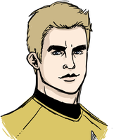 Portrait Time - Kirk by Sweet-Nectarine