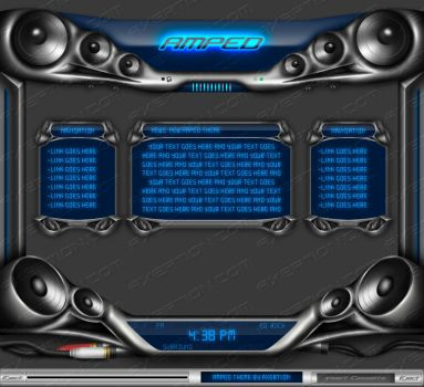 Amped theme by Axertion