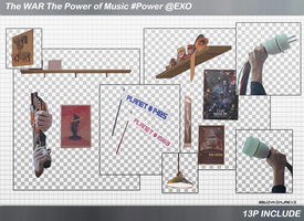 [SHARE PNGs]The WAR:The Power of Music #Power @EXO by SuzyKimJaeXi