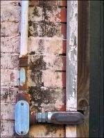Texture: Pipe and Wall by jensaarai