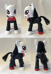 Billy the pony puppet by Evilunicorn97