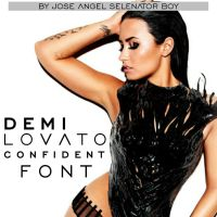 Confident Font Official by JoseSelenator