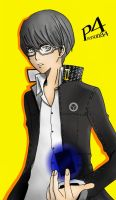 Persona 4, Main Character by Midnight-stray-child