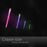 Crayon icon set by OtherPlanet