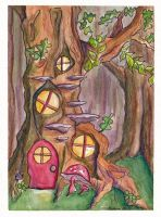 Gnome House by whimsyleaf