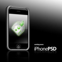 Coming Soon: iPhone PSD by jhasson