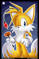 Happy Halloween 2015 - Tails by VagabondWolves