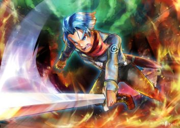 DBS Future Trunks : For Mai and Mother!! by Marini4