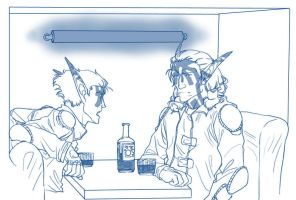 From the Top: Bar Talk by Luna-Kitsune-Blu