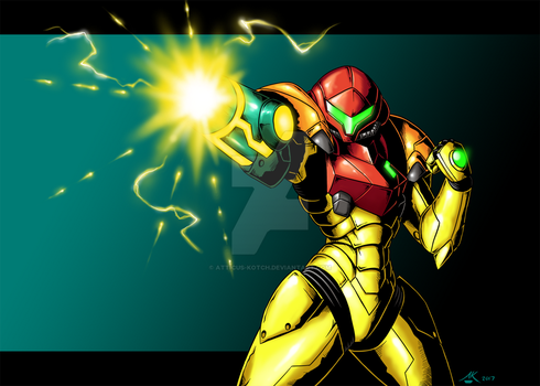Samus Returns by Atticus-Kotch