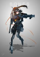 [B.O.N.E.S] with LVOA and Urban Assault Suit by frankpatriot